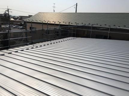 屋根の施工状況です。|郡山市 新築住宅 大原工務店のブログ