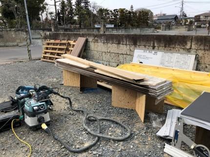 外壁屋さんの作業風景です。|郡山市 新築住宅 大原工務店のブログ