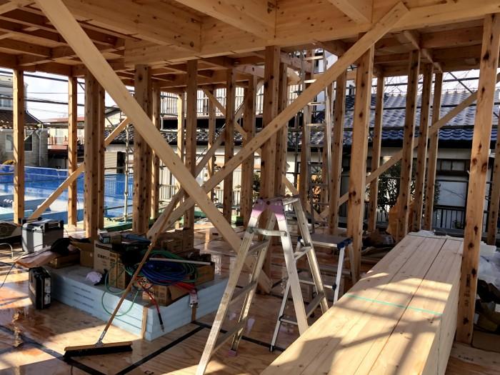 上棟しました。郡山市深沢|郡山市 新築住宅 大原工務店のブログ
