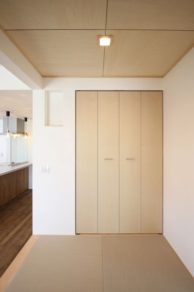 お客様邸の和室です。| 郡山市 新築住宅 大原工務店のブログ