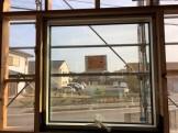 新築のサッシ取付です。|郡山市 新築住宅 大原工務店のブログ