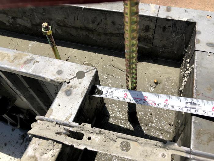 べた基礎のコンクリート打設です。 郡山市 新築住宅 大原工務店のブログ