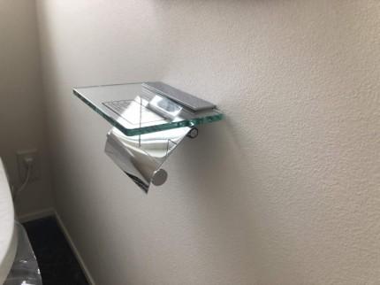 大原工務店のトイレにあるペーパーホルダーにKAWAJUNを使用しております。郡山市安積町| 郡山市 新築住宅 大原工務店のブログ