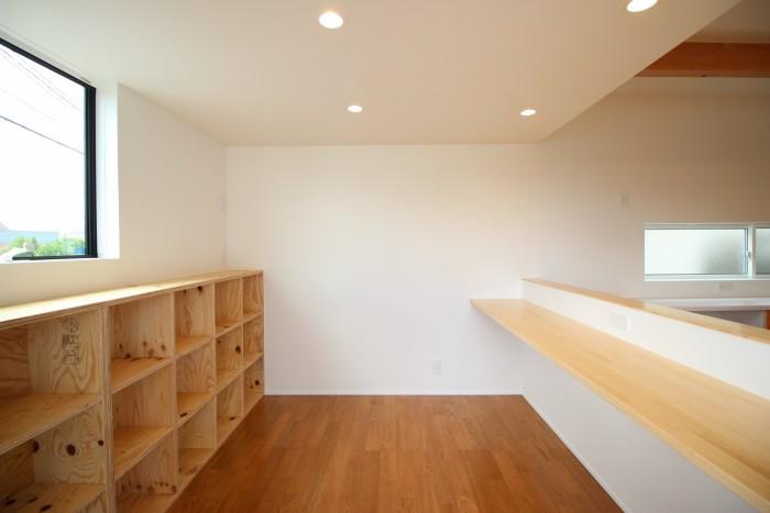 スタディコーナーです。|郡山市 新築住宅 大原工務店のブログ