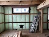 防湿・気密シートの施工です。郡山市喜久田町| 郡山市 新築住宅 大原工務店のブログ