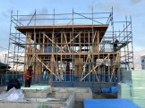 K様邸が上棟した様子です。郡山市深沢| 郡山市 新築住宅 大原工務店のブログ