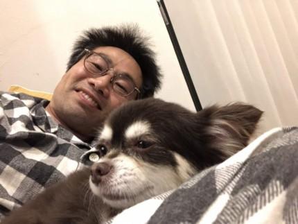 愛犬と撮影です。|郡山市 新築住宅 大原工務店のブログ