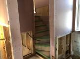 H様邸階段取付されております。郡山市大槻町|郡山市 新築住宅 大原工務店のブログ