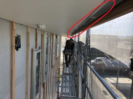棟換気は軒換気とセットです。 | 郡山市 新築住宅 大原工務店のブログ