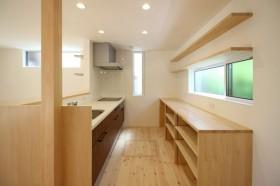郡山市T様邸キッチン造作収納棚|郡山市 注文住宅 大原工務店のブログ
