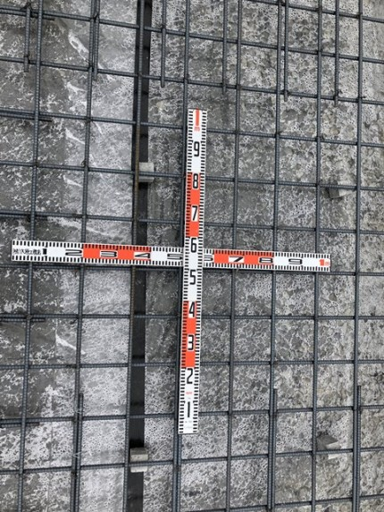 土間の配筋です。|郡山市 新築住宅 大原工務店のブログ
