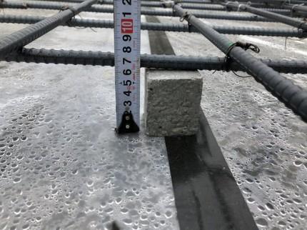 コンクリートのかぶり厚さです。|郡山市 新築住宅 大原工務店のブログ
