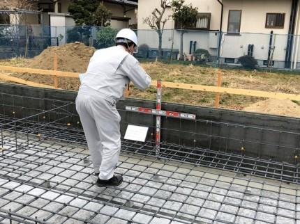 鉄筋検査です。|郡山市 新築住宅 大原工務店のブログ