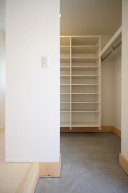 大容量の玄関収納があります。郡山市亀田| 郡山市 新築住宅 大原工務店のブログ