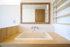 造作の洗面台|郡山市 新築住宅 大原工務店のブログ