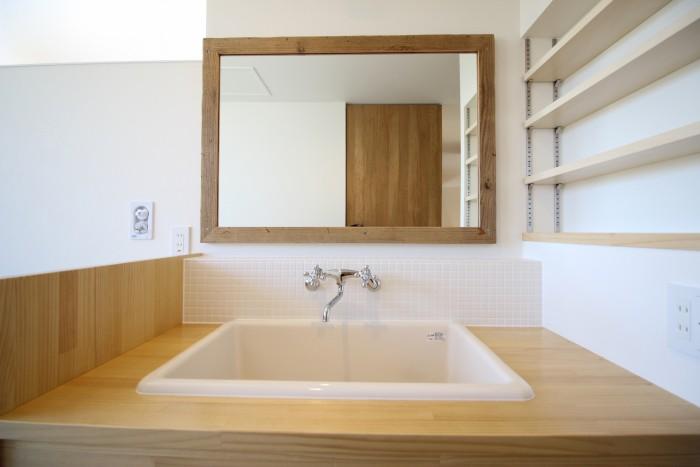 こだわりの洗面です。|郡山市 新築住宅 大原工務店のブログ