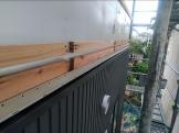 外壁施工しております。郡山市大槻町| 郡山市 新築住宅 大原工務店のブログ