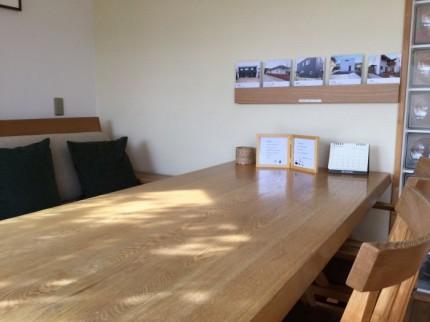 大原工務店の応接室です。郡山市安積町|郡山市 新築住宅 大原工務店のブログ