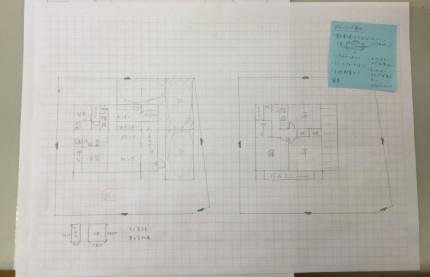 伊藤が作ってみた注文住宅のプランです。|郡山市 新築住宅 大原工務店のブログ
