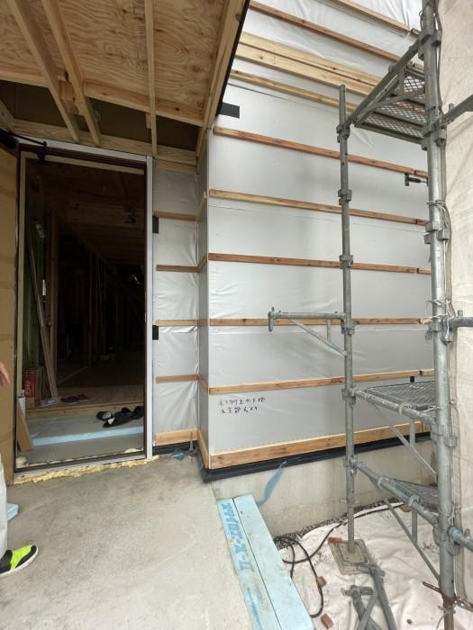 郡山市F様邸胴縁です。 郡山市 新築住宅 大原工務店のブログ