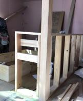 勉強机を造作しております。郡山市大槻町|郡山市 新築住宅 大原工務店のブログ