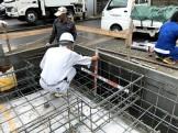 べた基礎の配筋検査です。|郡山市 新築住宅 大原工務店のブログ