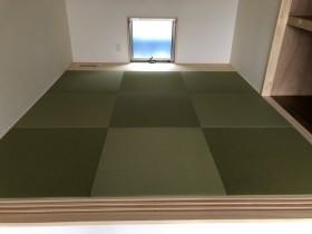 オシャレな畳コーナーです。田村市船引町|郡山市 新築住宅 大原工務店のブログ