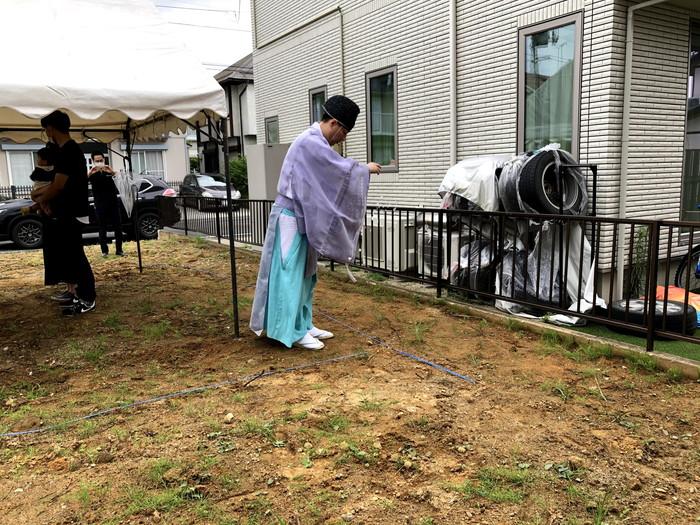 四方祓いの儀です。|郡山市 新築住宅 大原工務店のブログ