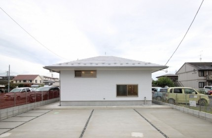 郡山市モデルハウス「中庭のある家」外観|郡山市 工務店 大原工務店のイベント