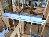 先張りシートの様子です。|郡山市 新築住宅 大原工務店のブログ