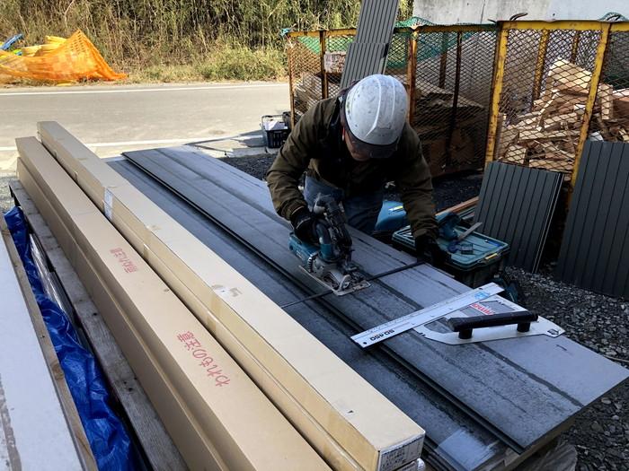 W様邸、外壁施工が進んでおります。須賀川市森宿| 郡山市 新築住宅 大原工務店のブログ