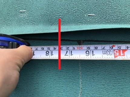 ルーフィングの施工チェックです 岩瀬郡鏡石町 |郡山市 新築住宅 大原工務店のブログ