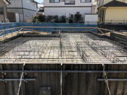鉄筋検査終了後です。|郡山市 新築住宅 大原工務店のブログ