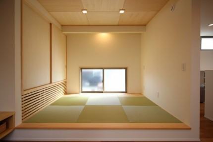 郡山市平屋モデルハウス「中庭のある家」和室|郡山市 新築住宅 大原工務店のブログ