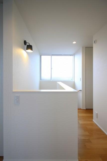 郡山市「ライフボックス」モデルハウス階段ホール|郡山市 新築住宅 大原工務店のブログ