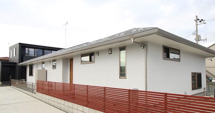 旭トステム ルービック16P ルービックライトグレーの外壁を使ったお家です。郡山市安積町| 郡山市 新築住宅 大原工務店のブログ
