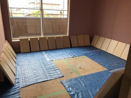 塗装をした可動棚です 郡山市亀田 | 郡山市 新築住宅 大原工務店のブログ
