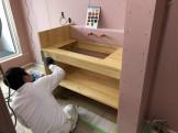 塗装作業中です 郡山市亀田|郡山市 新築住宅 大原工務店のブログ