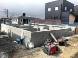 新築注文住宅の基礎工事が終わりました 郡山市安積町 |郡山市 新築住宅 大原工務店のブログ