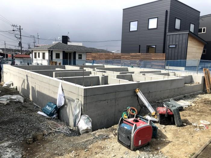新築注文住宅の基礎工事が終わりました 郡山市安積町  郡山市 新築住宅 大原工務店のブログ