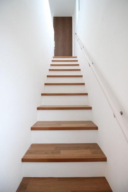 階段の仕上がりイメージです。郡山市大槻町| 郡山市 新築住宅 大原工務店のブログ