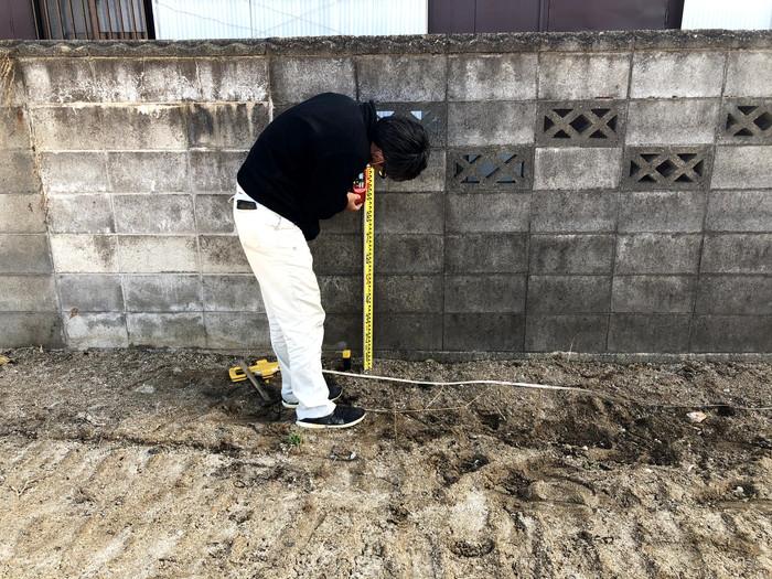 お隣さんのブロックの状況です。郡山市富田町  郡山市 新築住宅 大原工務店のブログ