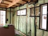 大原工務店で新築注文住宅建築中K様邸、機密検査を行いました。郡山市安積町| 郡山市 新築住宅 大原工務店のブログ