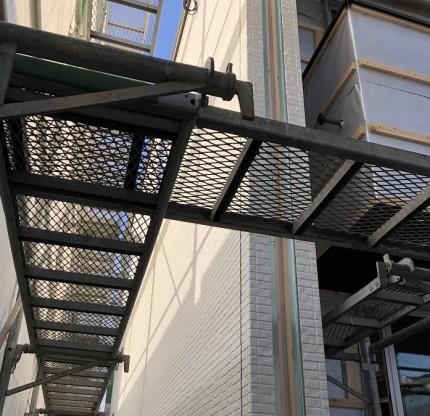 外壁施工中です。田村郡三春町|郡山市 新築住宅 大原工務店のブログ
