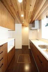 須賀川市S様邸新築住宅キッチン|郡山市 新築住宅 大原工務店のブログ