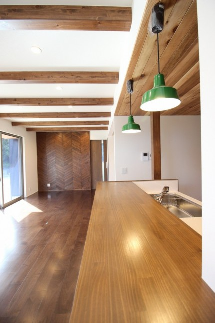 カフェ風のリビングです。須賀川市北横田| 郡山市 新築住宅 大原工務店のブログ