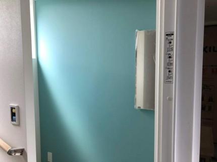 トイレのアクセントクロスです。