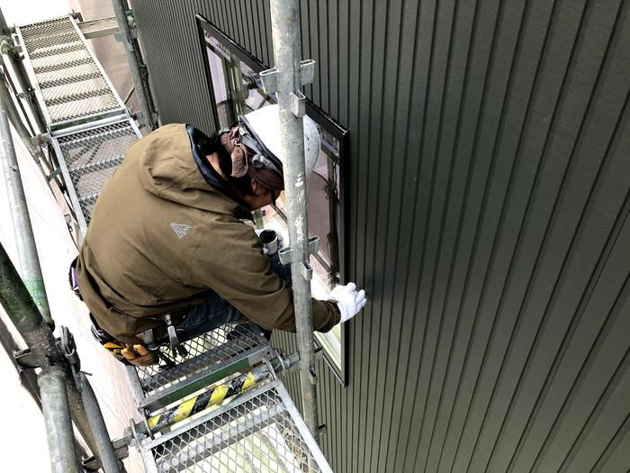 外壁施工が進んでます。須賀川市森宿| 郡山市 新築住宅 大原工務店のブログ