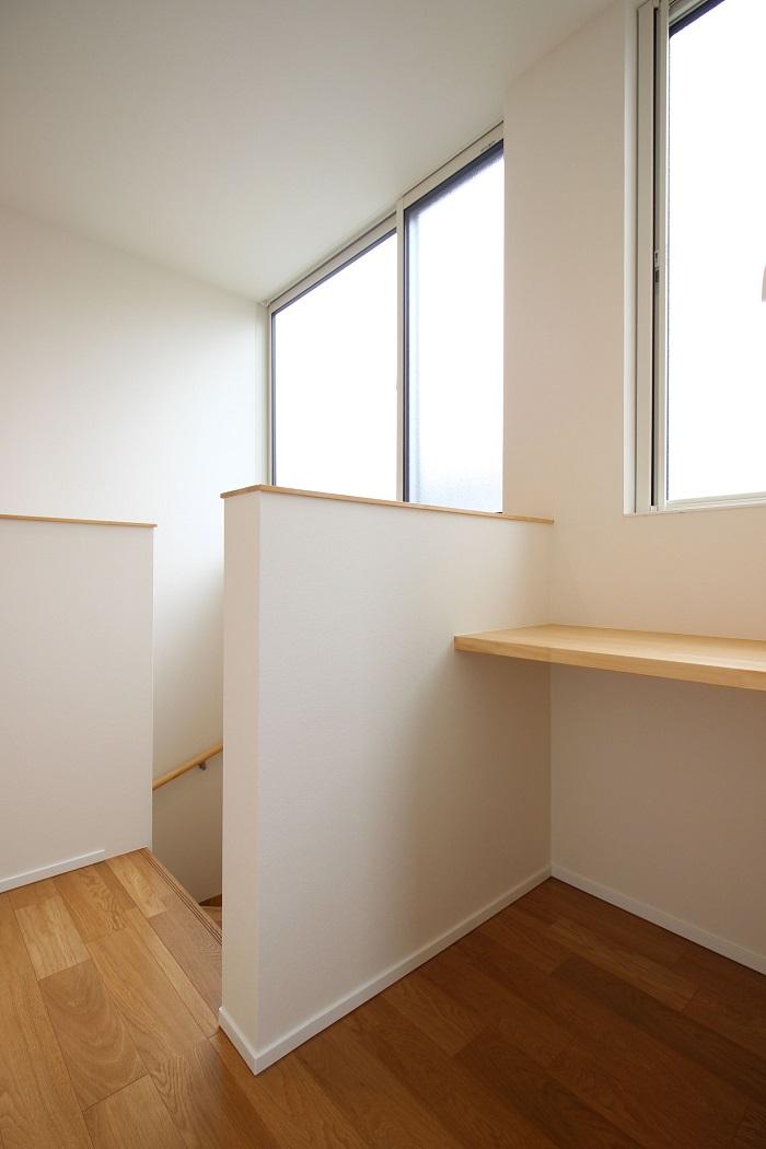 大原工務店の新築注文住宅施工例、階段コーナーです。郡山市安積町| 郡山市 新築住宅 大原工務店のブログ