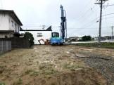 新築注文住宅の地盤改良工事です 郡山市田村町 |郡山市 新築住宅 大原工務店のブログ